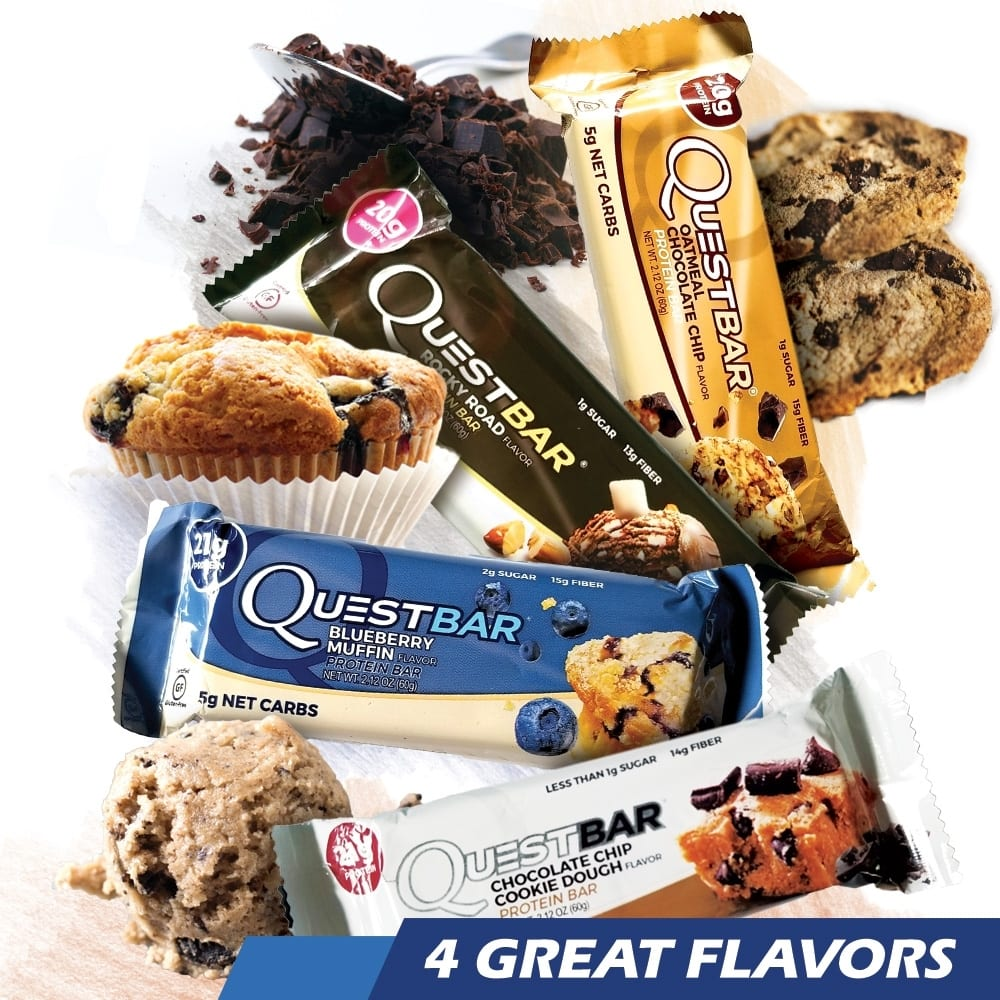 Quest Bars 4 Flavor Pack - 12 Bars