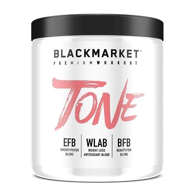 Tone - Women's Pre Workout - Orange Mango - 30 Servings By Blackmarket Labs-0