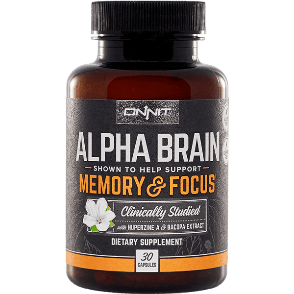 Alpha Brain - 30 Capsules - Onnit Labs-0