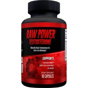 Raw Power Testosterone Booster - 90 Capsules -30 Servings By Explicit Supplements-0