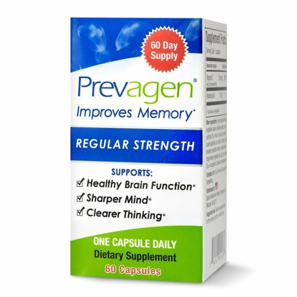 Prevagen Regular Strength - 10mg - 60 Capsules-0
