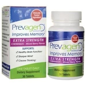 Prevagen Extra Strength - Mixed Berry Chewables - 30 Tablets-0