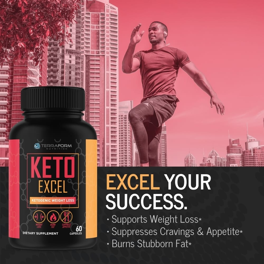 Premium Keto Stack - Keto Excel Weight Loss & Keto Ready Carb Blocker - 30 Day Supply-753