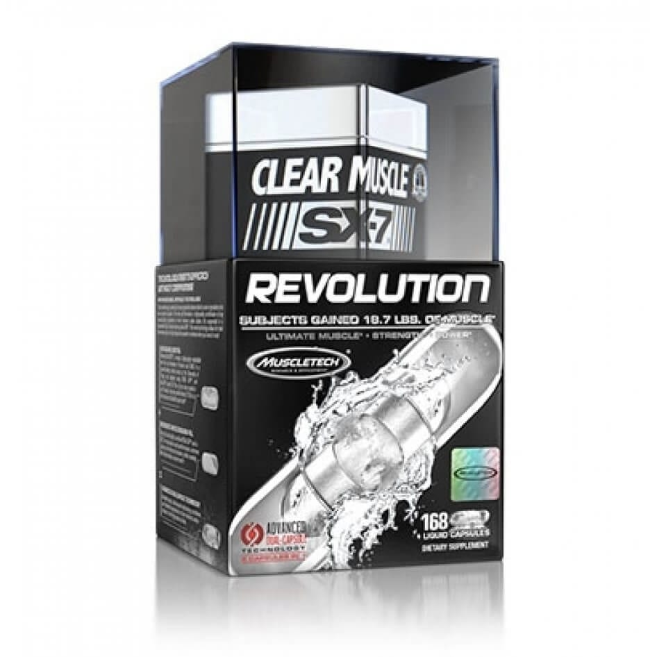 Clear Muscle SX-7 Revolution - 168 Capsules By Muscletech-0