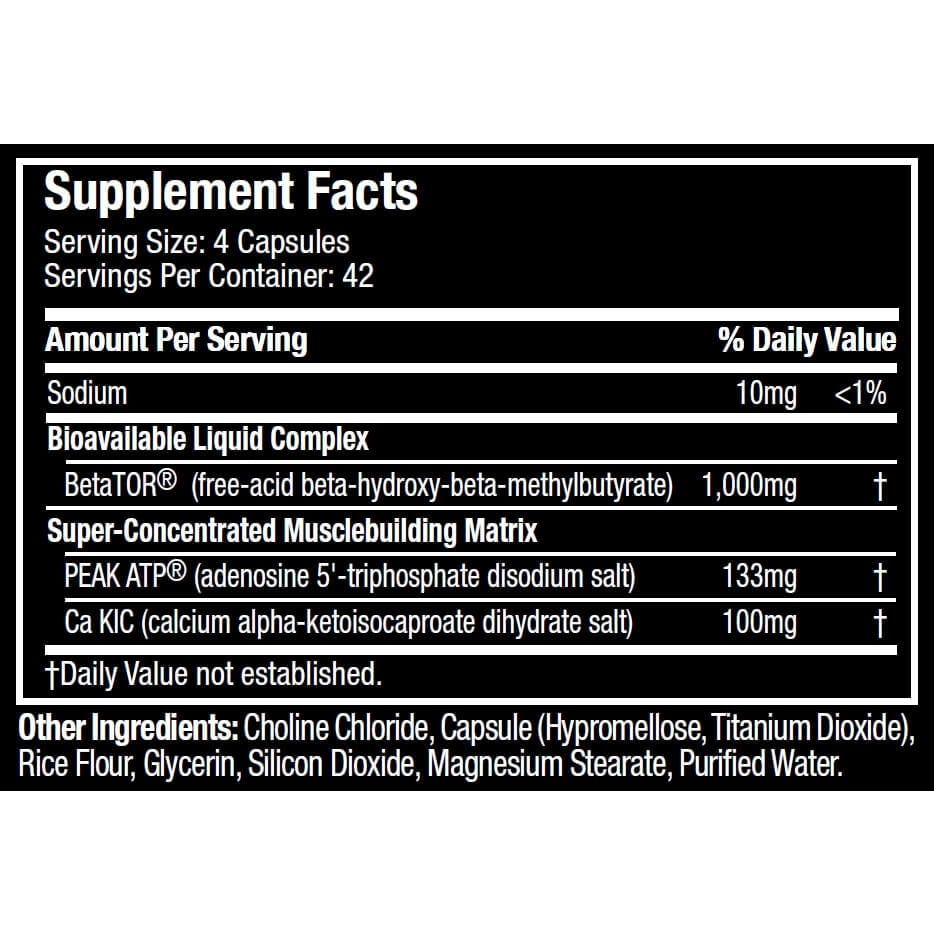 Clear Muscle SX-7 Revolution - 168 Capsules By Muscletech-812