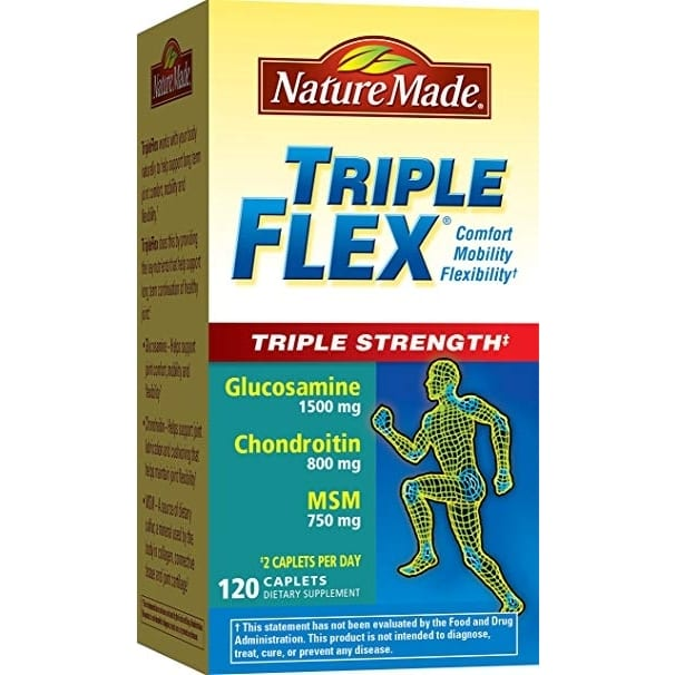 TripleFlex - Triple Strength - 120 Count By Nature Made-0