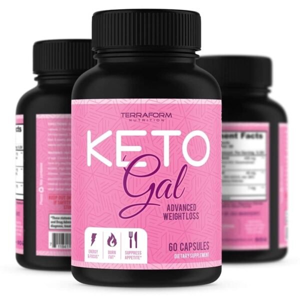 Keto Gal – Keto Diet Weight Loss for Women – 60 Capsules-0