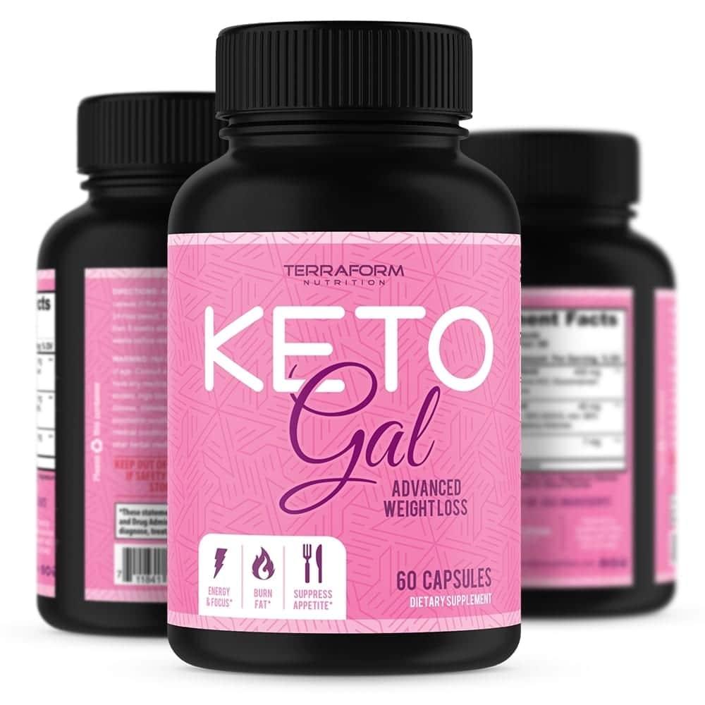Keto Gal – Keto Diet Weight Loss for Women – 60 Capsules-0