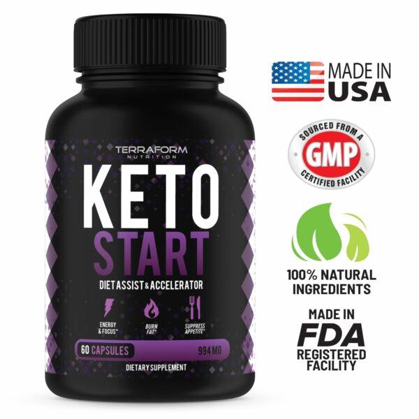 Keto Start – Keto Diet Supplement – 60 Capsules-842