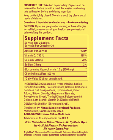 TripleFlex 50+ - Triple Strength - 120 Count By Nature Made-818