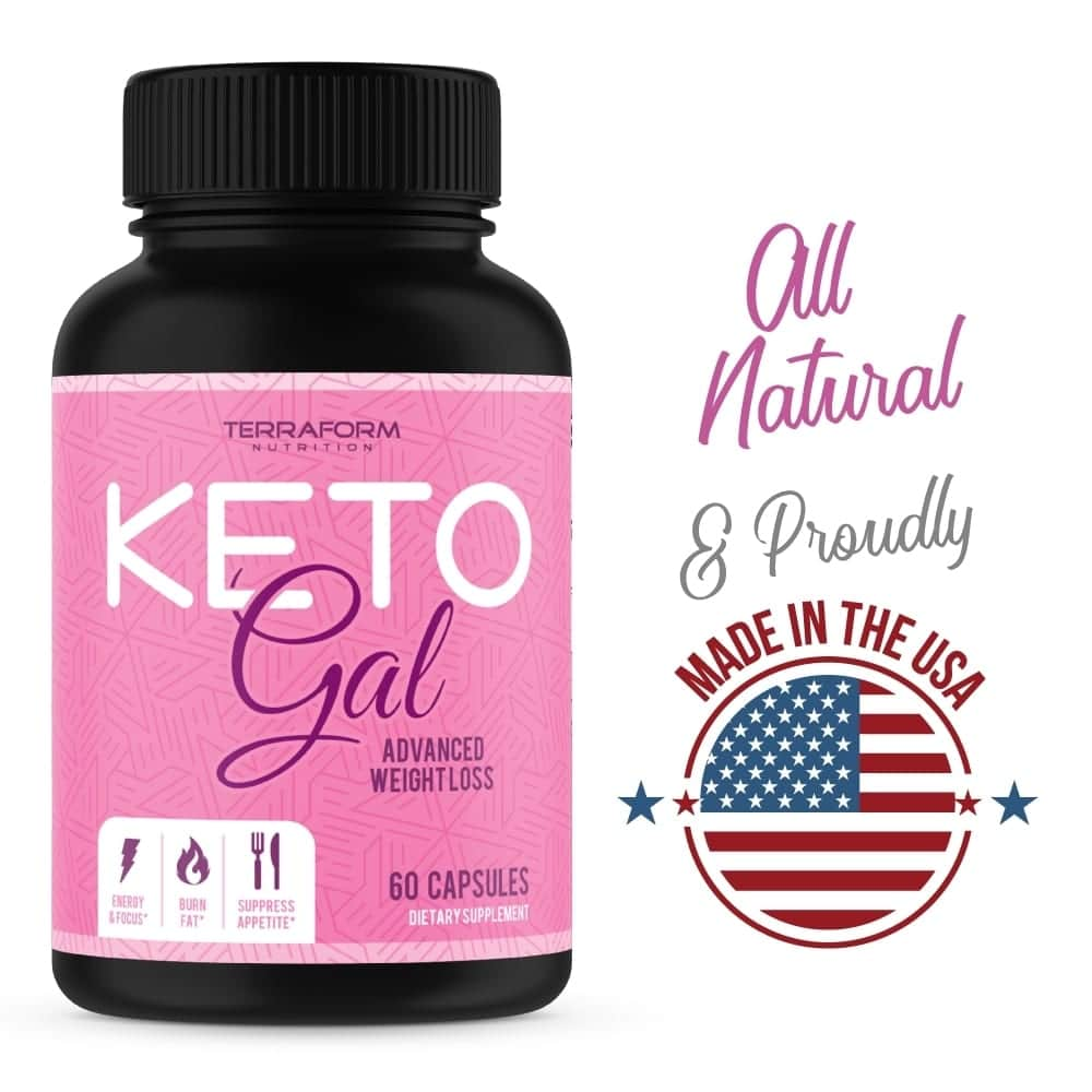 Keto Gal – Keto Diet Weight Loss for Women – 60 Capsules-850