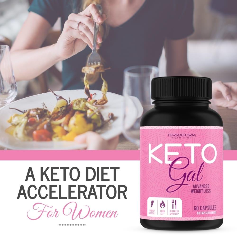 Keto Gal – Keto Diet Weight Loss for Women – 60 Capsules-852