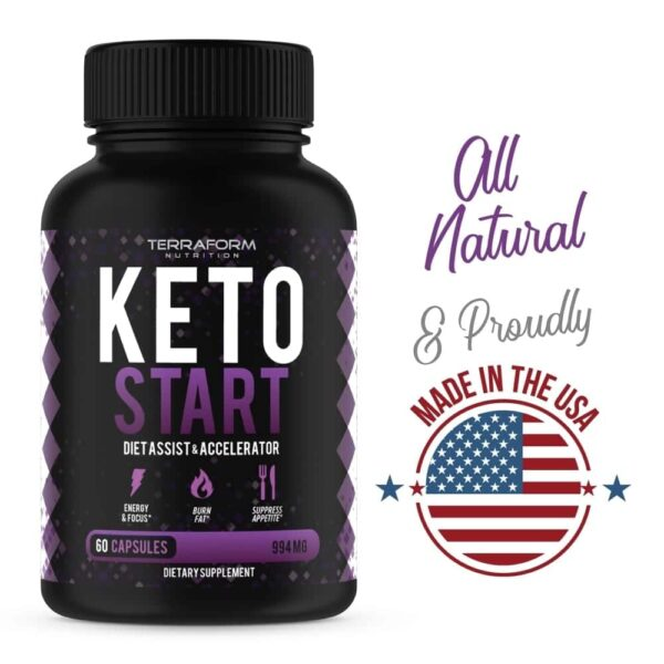 Keto Start – Keto Diet Supplement – 60 Capsules-844