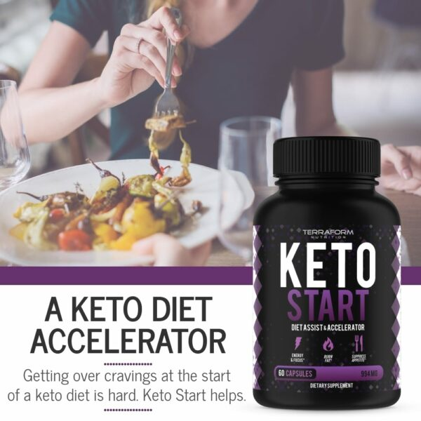 Keto Start – Keto Diet Supplement – 60 Capsules-846