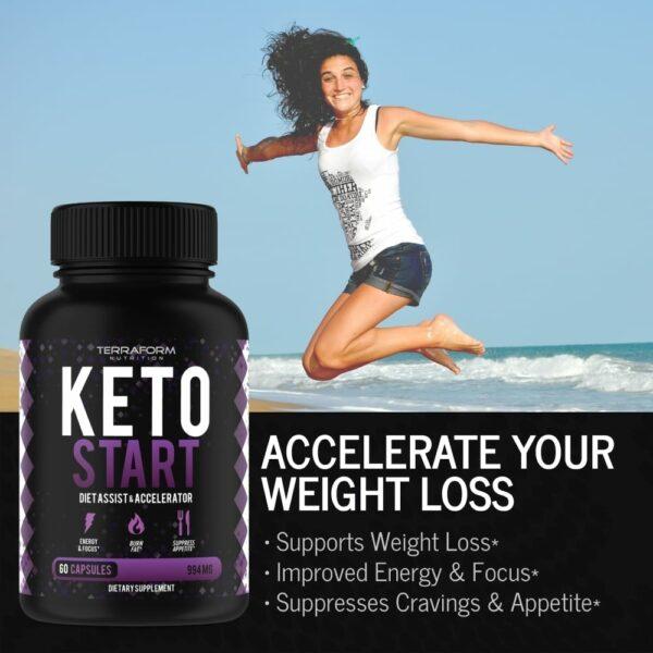 Keto Start – Keto Diet Supplement – 60 Capsules-845
