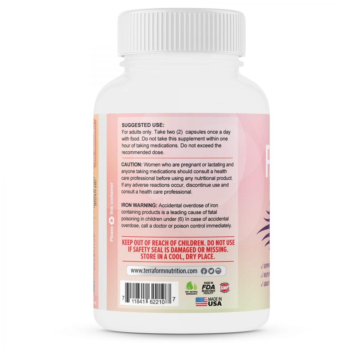 Purity - Hair Skin & Nail Vitamins – Supports Hair Growth for Women, Nourishes Skin & Nails-864