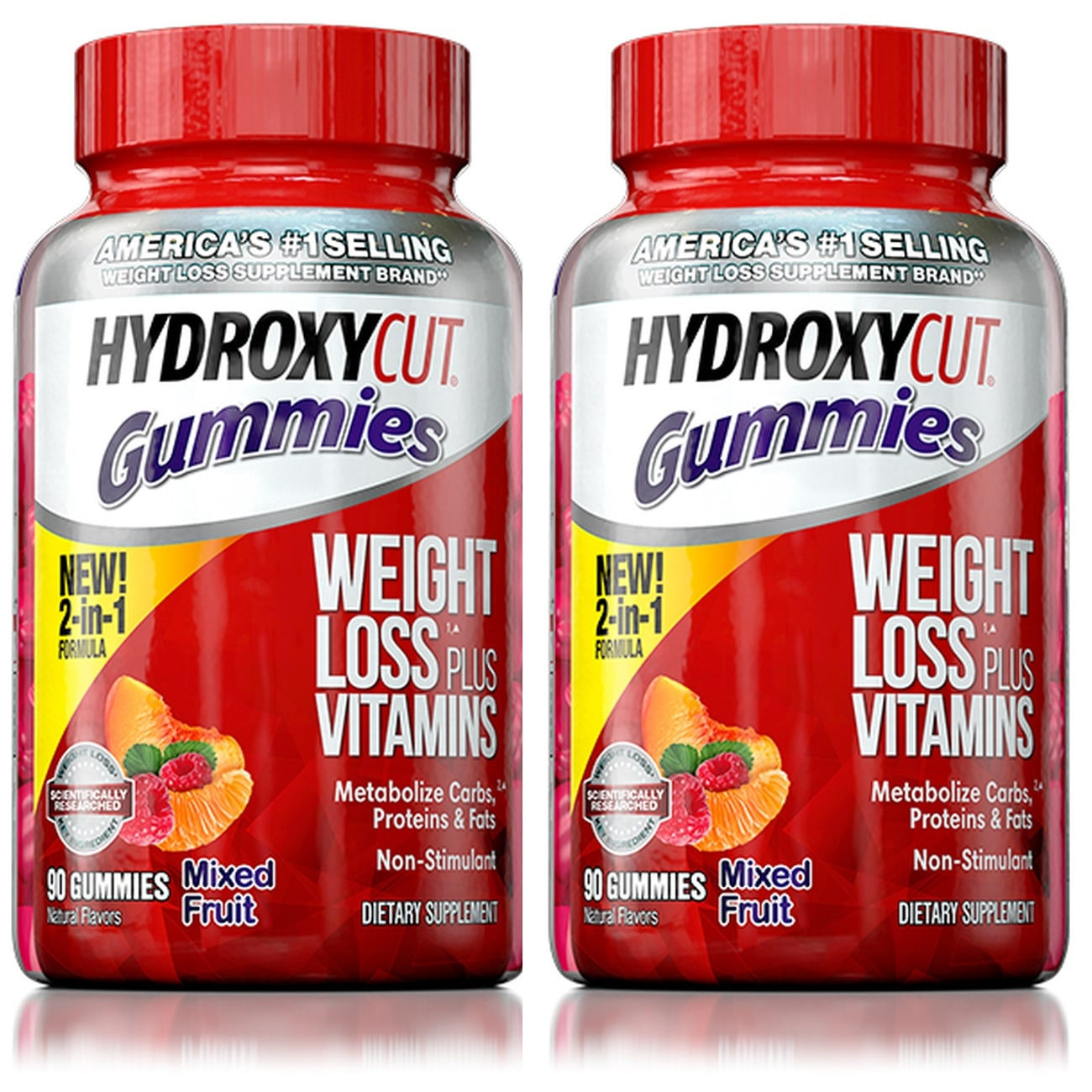 Hydroxycut Gummies Mixed Fruit 90 Count 2 Pack Selectsupps Com
